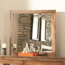 Peyton Mirror with Beveled Glass and Wood Frame