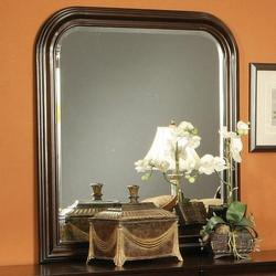Louis Philippe Curved Frame Dresser Mirror