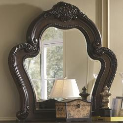 Abigail Mirror With Exaggerated Curved Frame