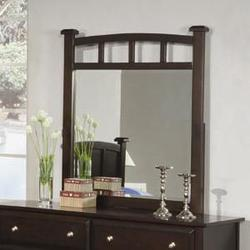 Jasper Dresser Mirror with Curved Frame
