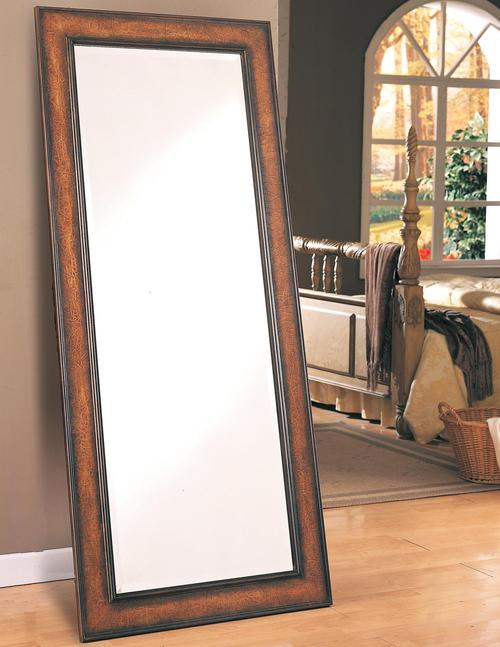 Coaster accent mirrors long floor mirror for Long mirrors for bedroom