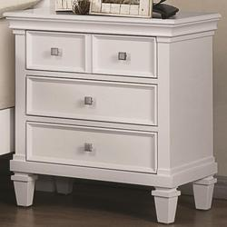 Camellia Night Stand with 3 Drawers