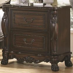 Abigail Nightstand With Two Drawers