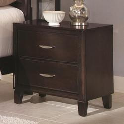 Coventry Transitional Two Drawer Night Stand