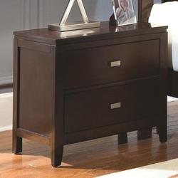 Calvin Night Stand with 2 Drawers