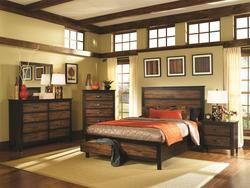 Conway California King Storage Bedroom Group