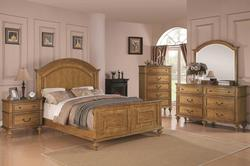 Emily Oak California King Bedroom Group