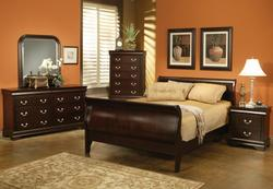 Louis Philippe California King Bedroom Group