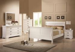 Louis Philippe 204 Queen Bedroom Group