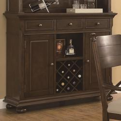 Camilla 3 Drawer Buffet with Wine Rack