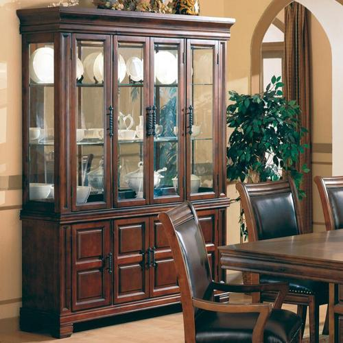 Westminster China Cabinet with Glass Doors & Coaster Westminster China Cabinet with Glass Doors Pezcame.Com