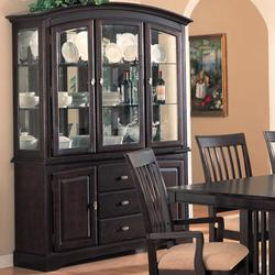 Monaco China Cabinet with Doors and Drawers