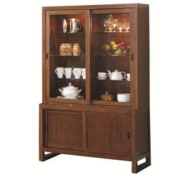Camila Buffet and Hutch with 4 Doors and 10 Shelves