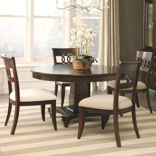 Coaster Alyssa Table And 4 Side Chair Set