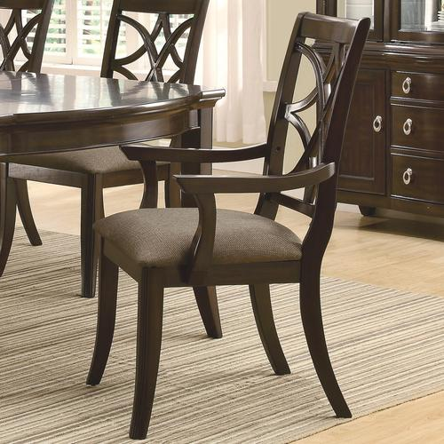 Coaster Meredith Dining Arm Chair w Fabric Cushion Seat : 103533 from www.luisfurniturestyle.com size 500 x 500 jpeg 51kB