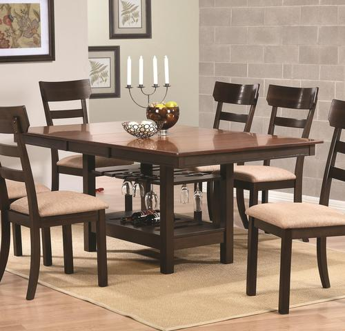 Coaster Lexton 101561 Rectangular Dining Table With 18: Coaster Greenbury Rectangular Dining Table With 18