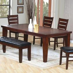 Imperial Rectangular Dining Table with 18' Leaf