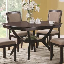 Memphis Rounded Square Dining Table