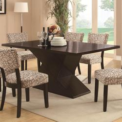 Libby Dining Table with Hourglass Base