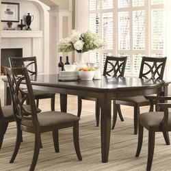 Meredith Dining Leg Table w/ Leaf Extensions