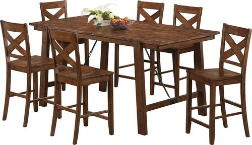 Lawson 7 Piece Pub Table Set  sc 1 st  Luis Furniture & Coaster Lawson 7 Piece Pub Table Set