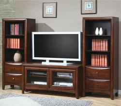 Madison - Coaster TV Stand and Media Tower Wall Unit