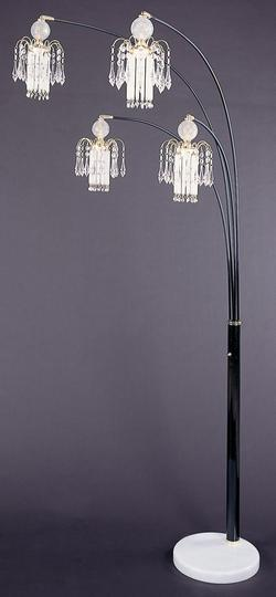 Floor Lamps Glass Floor Lamp