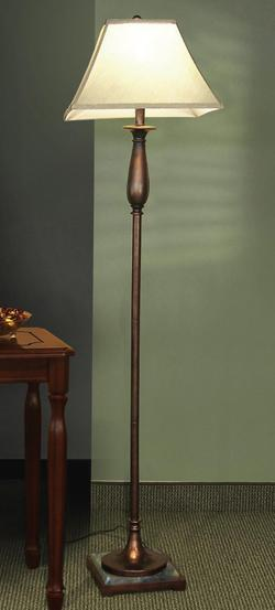 Floor Lamps Dark Bronze Finish Floor Lamp