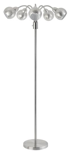 Floor Lamps Brushed Steel Gooseneck Floor Lamp