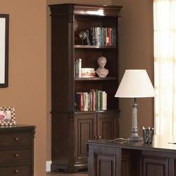 Cherry Valley Traditional Combination Bookcase