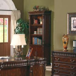 Union Hill Open Bookcase with Storage Base