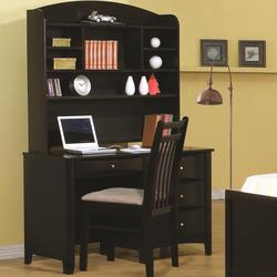 Phoenix Single Pedestal Desk w/ Hutch