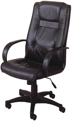 coaster office chairs casual contemporary faux leather office side