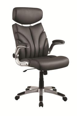 coaster office chairs sleek high back office chair