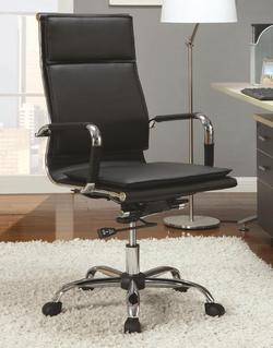 Office Chairs Black High Back Executive Chair
