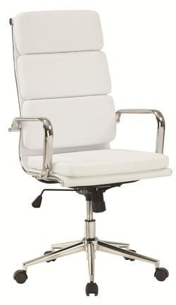 Office Chairs Modern Office Chair w/ High Back
