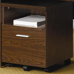 Peel Mobile File Cabinet with Shelf and Drawer
