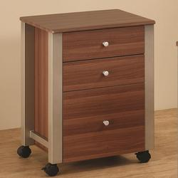 Carmen Mobile File Cart with 3 Drawers