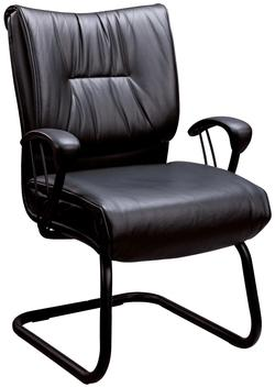 Office Chairs Casual Contemporary Faux Leather Office Side Chair