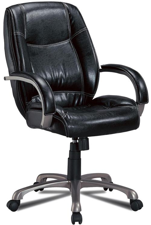 coaster office chairs contemporary faux leather office