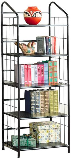 Bookcases Casual Metal Bookcase