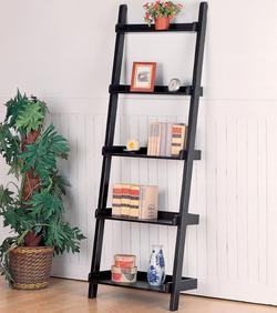 Bookcases Casual Leaning Bookcase