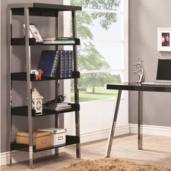 Clayton Contemporary Bookcase with 4 Shelves
