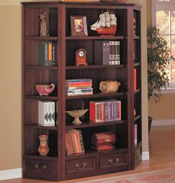 Bookcases Traditional Bookcase and Corner Bookcases
