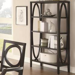 800460 Contemporary Open Bookcase