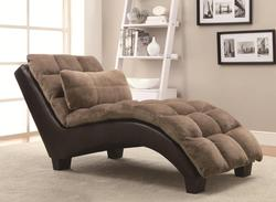 Accent Seating Pillow-top Upholstered Chaise
