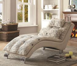 Accent Seating Pillow-Top Chaise