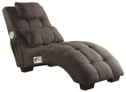 Accent Seating Upholstered Chaise w/ Speakers