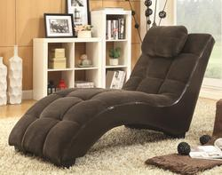 Accent Seating Chaise Lounger Headrest Pillow