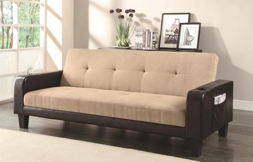 Sofa Beds And Futons Contemporary Adjule With Cup Holderagazine Storage